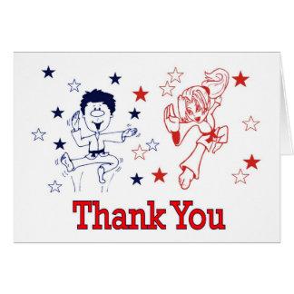 Martial Arts Celebration Thank You Cards