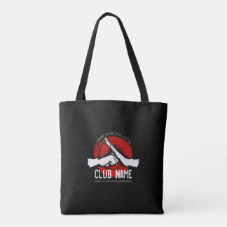 Martial Arts Club Tote Bag