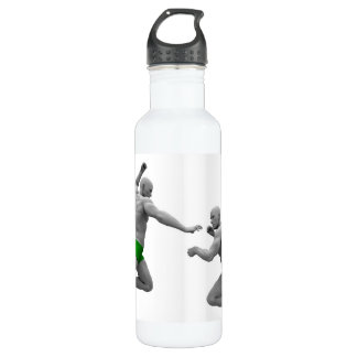 Martial Arts Concept for Fighting and Protection 710 Ml Water Bottle