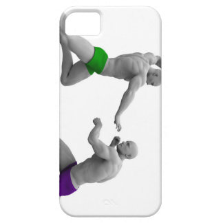 Martial Arts Concept for Fighting and Protection Barely There iPhone 5 Case