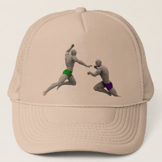 Martial Arts Concept for Fighting and Protection Trucker Hat