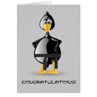 Martial Arts Congratulations Card