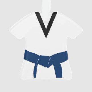 Martial Arts Dark Blue Belt Uniform