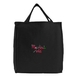 Martial Arts Embroidered Bags