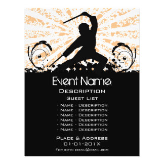 Martial Arts Event Promotion Flyer