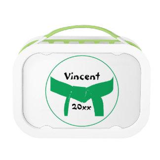 Martial Arts Green Belt Lunch Box