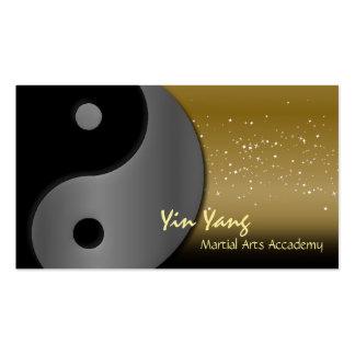 Martial Arts Karate Business Card Yin Yang
