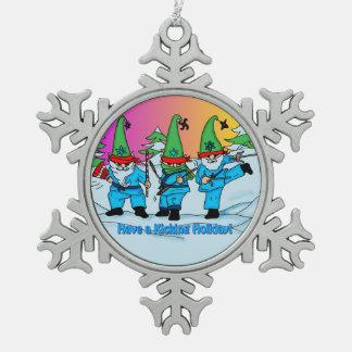 Martial Arts Karate Elves Ornament