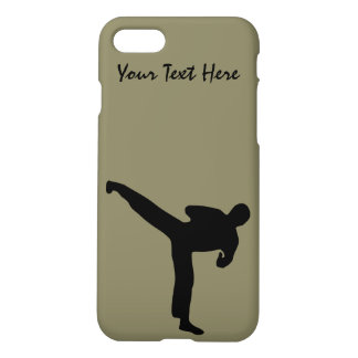 Martial Arts. Karate, Tae Kwon Do, Kick Boxing iPhone 8/7 Case