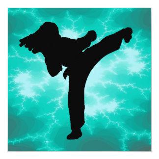 Martial Arts Lightning Invitations