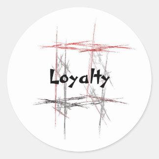 Martial Arts Loyalty Stickers