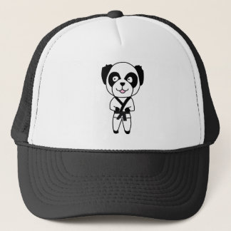 Martial Arts Panda Bear Trucker Hat