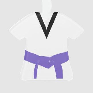 Martial Arts Purple Belt Uniform