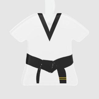 Martial Arts Second Degree Black Belt Uniform