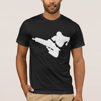 martial arts silhouettes T-Shirt