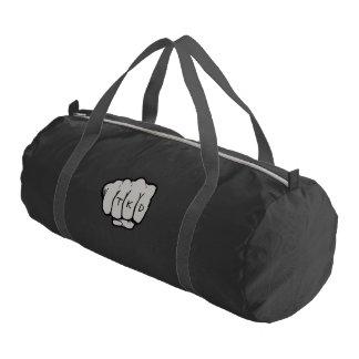 Martial Arts TKD Fist Punch Gym Duffel Bag