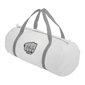 Martial Arts TKD Fist Punch Gym Bag