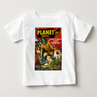 Martian and Earth Girl Baby T-Shirt