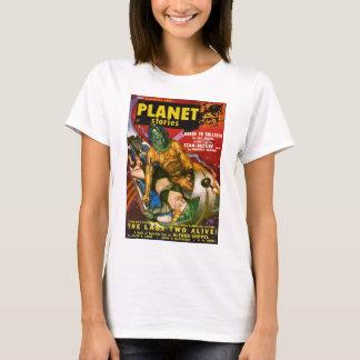Martian and Earth Girl T-Shirt