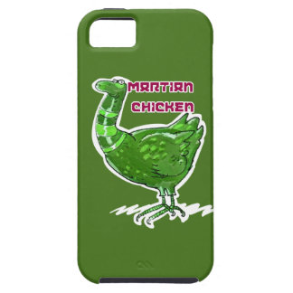 martian chicken cartoon style funny illustration iPhone 5 cover