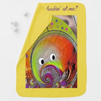 """""""Martian Fish"""" Baby Blanket"""