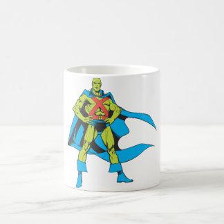 Martian Manhunter Poses Coffee Mug