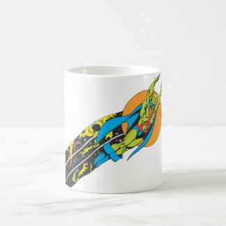 Martian Manhunter Takes Flight Coffee Mug