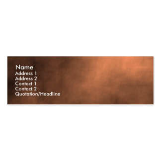 Martian Sand Storm Double-Sided Mini Business Cards (Pack Of 20)