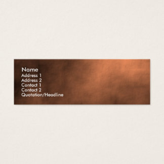 Martian Sand Storm Mini Business Card