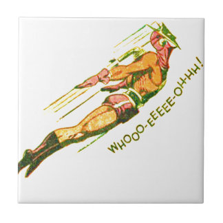Martian Victory yell Ceramic Tile