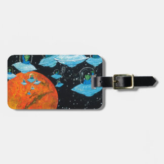 Martians are Angry Luggage Tag