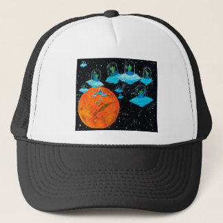 Martians are Angry Trucker Hat