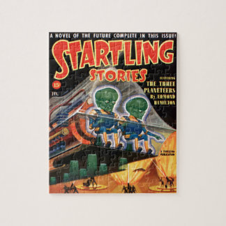 Martians Go For a Ride Jigsaw Puzzle