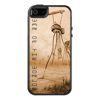 Martians With Gas Guns War Of The Worlds OtterBox iPhone 5/5s/SE Case