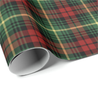 Martin Clan Tartan Wrapping Paper