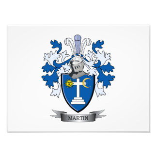 Martin Coat of Arms Photographic Print