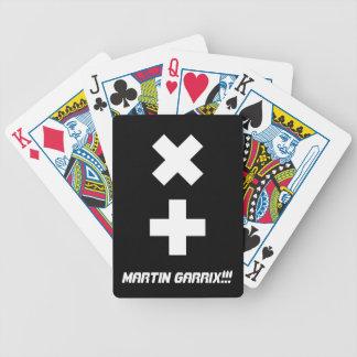 Martin garrix logo poker cards. bicycle playing cards