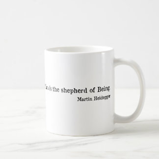 Martin Heidegger Coffee Mug