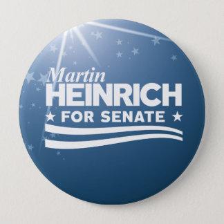 Martin Heinrich for Senate 10 Cm Round Badge
