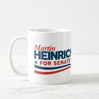 Martin Heinrich for Senate Coffee Mug