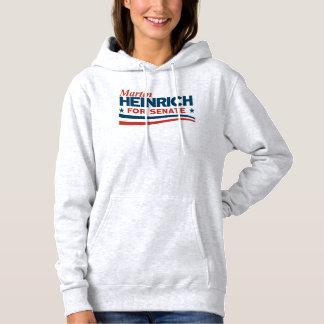 Martin Heinrich for Senate Hoodie