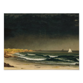 Martin Johnson Heade - Approaching Storm Photographic Print