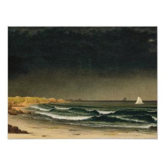Martin Johnson Heade - Approaching Storm Photographic Print
