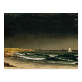 Martin Johnson Heade - Approaching Storm Postcard