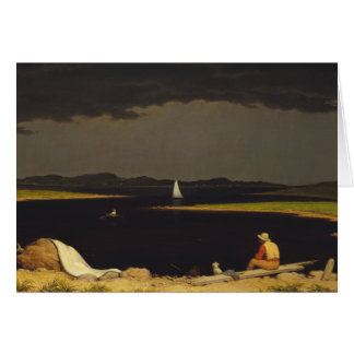 Martin Johnson Heade - Approaching Thunderstorm Card