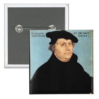 Martin Luther, c.1532 15 Cm Square Badge
