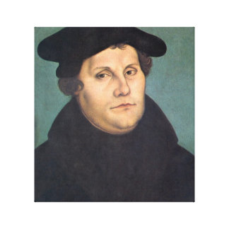 Martin Luther Protestant Canvas Print