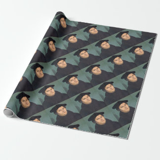 Martin Luther Protestant Reformation Wrapping Paper