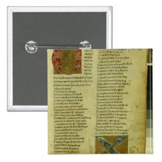 Martin Luther s enrolment sheet Buttons
