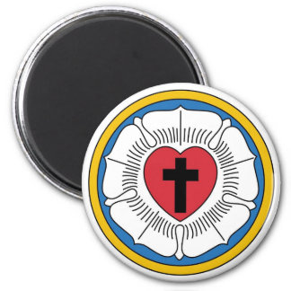 Martin Luther's Seal 6 Cm Round Magnet
